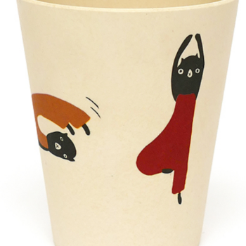 Bamboo tableware cup for babies