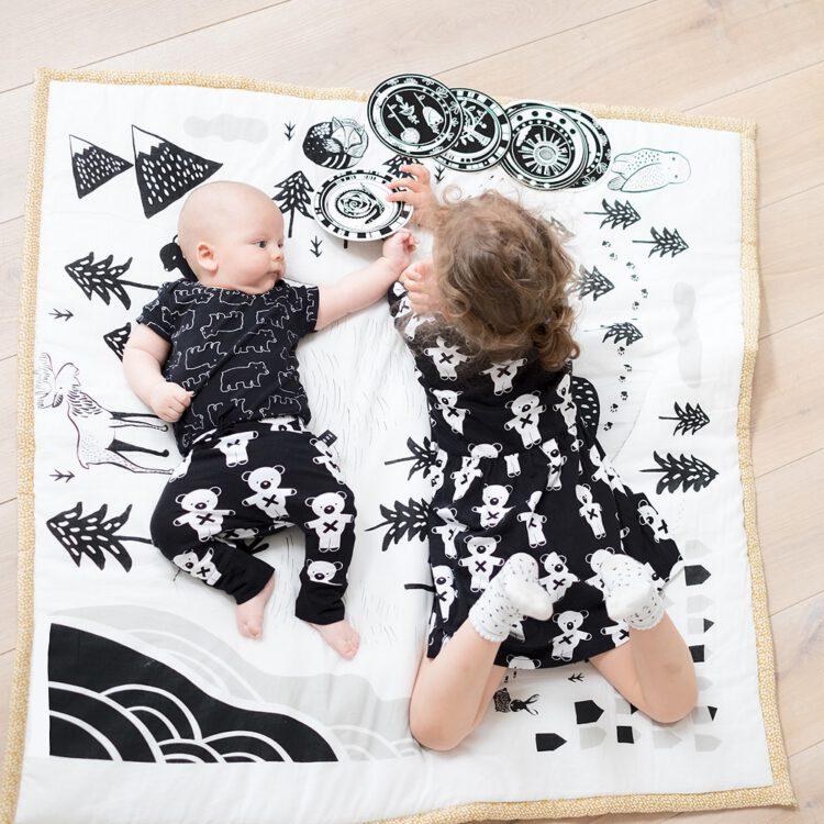 wee gallery Baby Playmat - Explore