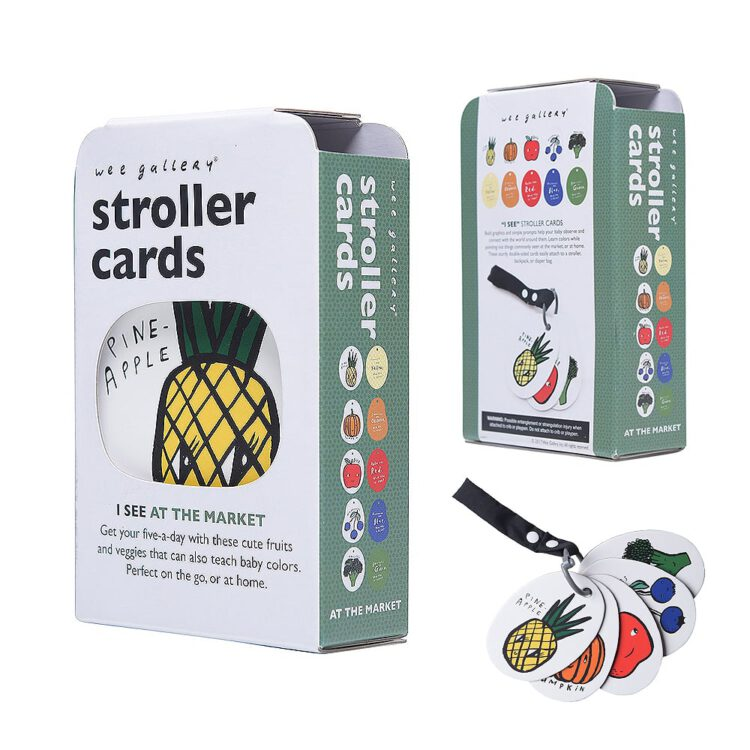 Stroller Cards: I see in the market