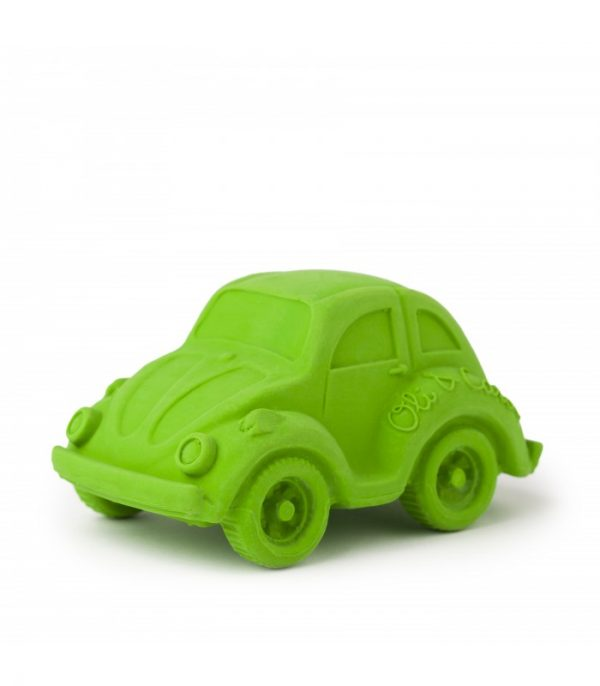 Bath toy & Teether: Carlito rubber car, Oil & Carlo