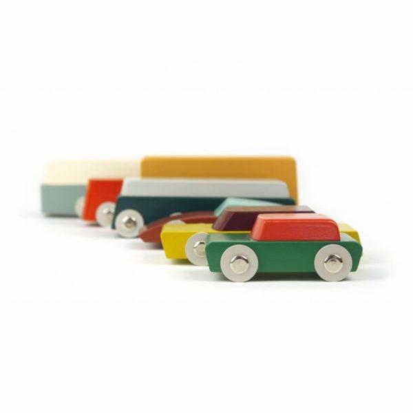 ikonic toys Floris Hovers Duotone Cars Set