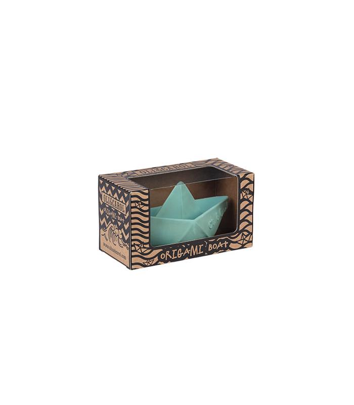 Vanilla Origami Boat for Babies