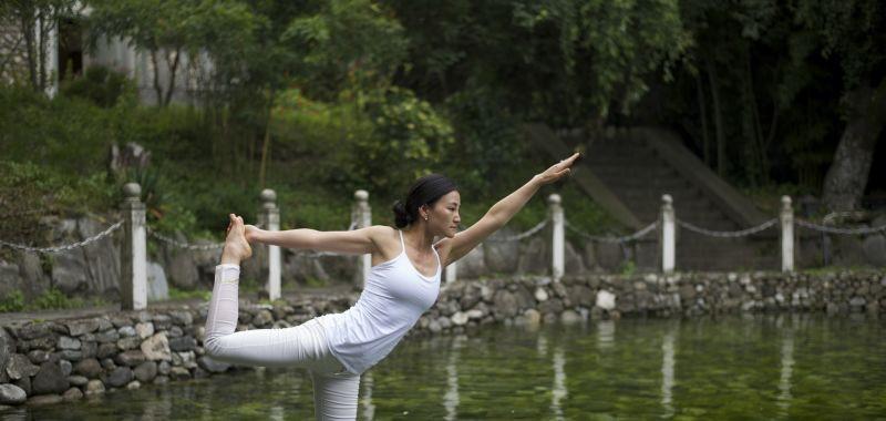 瑜伽在路上